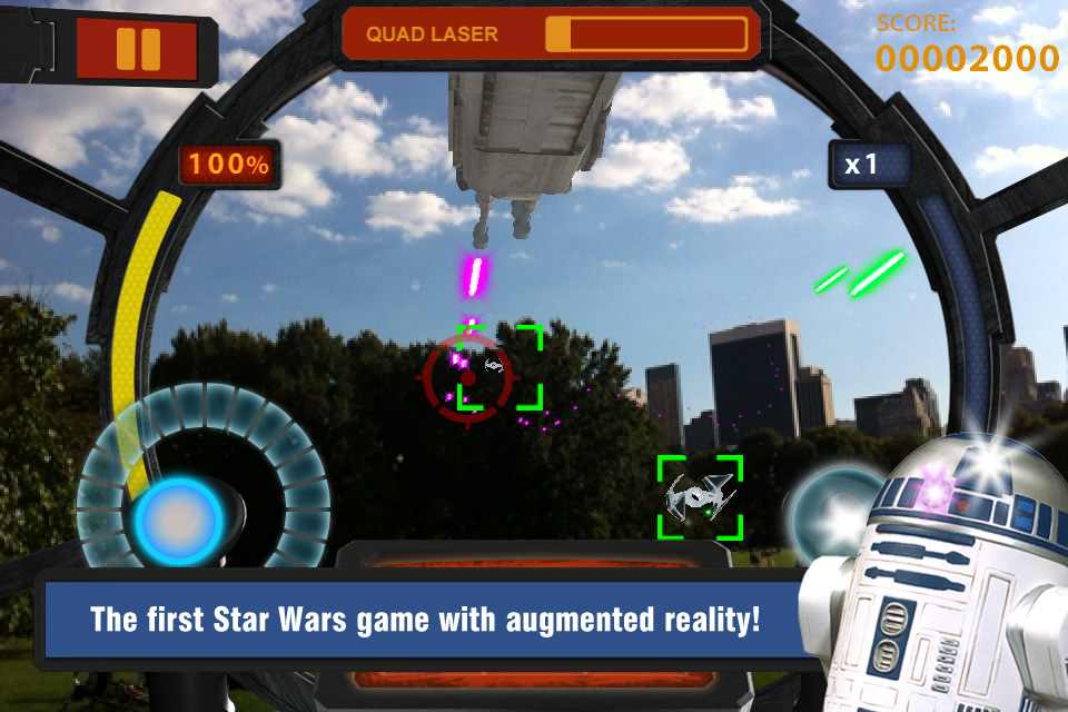 Screenshot Star Wars Arcade: Falcon Gunner